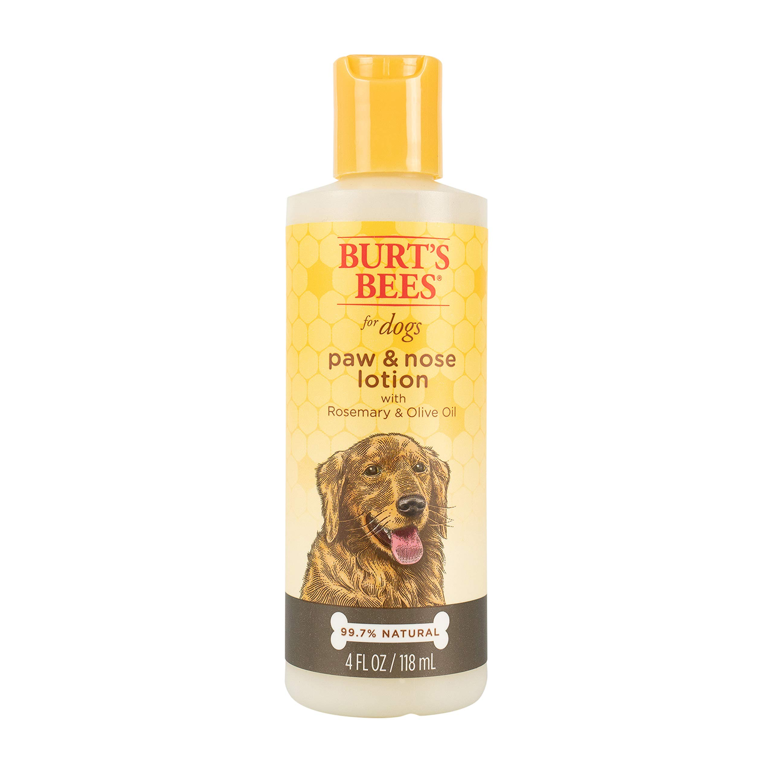 Burt's Bees for Dogs All-Natural Paw & Nose Lotion with Rosemary & Olive Oil   Dog Product For All Dogs and Puppies…