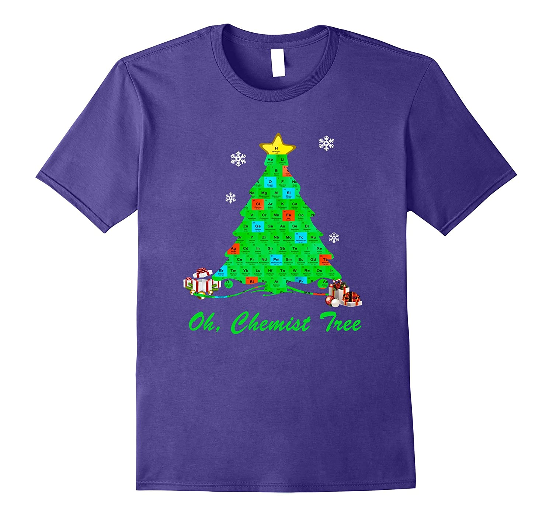 Oh Chemist Tree shirt Christmas tree-Rose