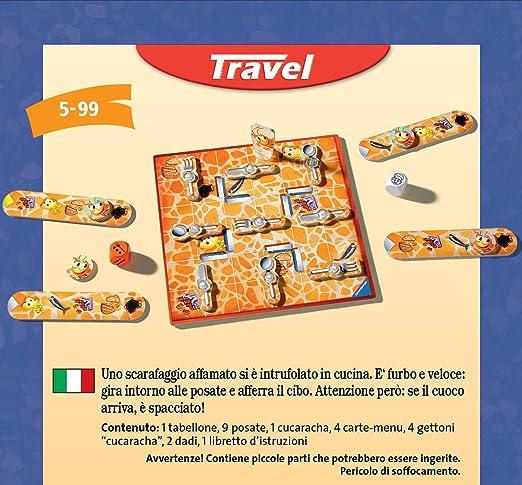 Ravensburger- Juego de Viaje La Cucaracha, Miscelanea (234141 ...