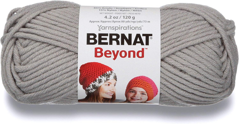 Bernat Beyond Yarn, 4.2 oz, Gauge 6 Super Bulky Chunky, Smoke