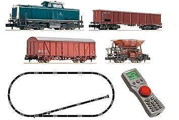 digitales starterset modelleisenbahn spur n