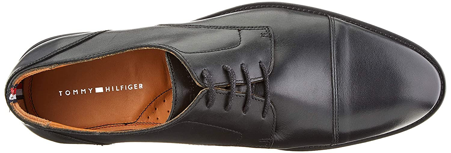 Tommy Hilfiger Essential Leather Toecap Lace Up ccb60b95c36