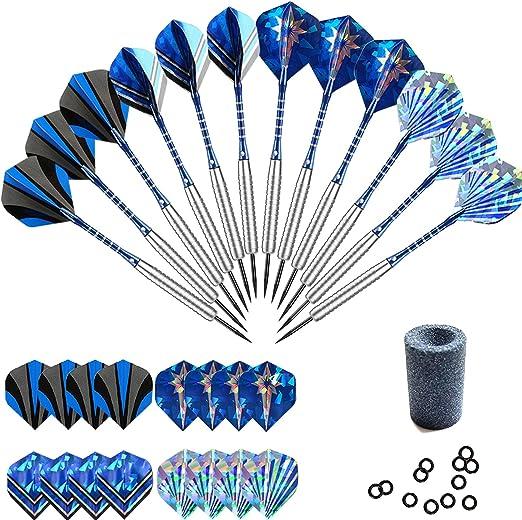 Professional 24pcs//set 2D ular-Pattern Dart Flights Dart Darts Nice C9M2 Ta D3S5