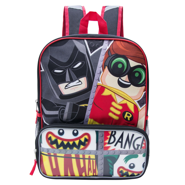 Lego Batman Large Cordura Backpack - Lego Batman Boys' Large Cordura Backpack 34318