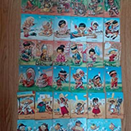 Fournier- Familias 7 Países Baraja de Cartas Infantil ...