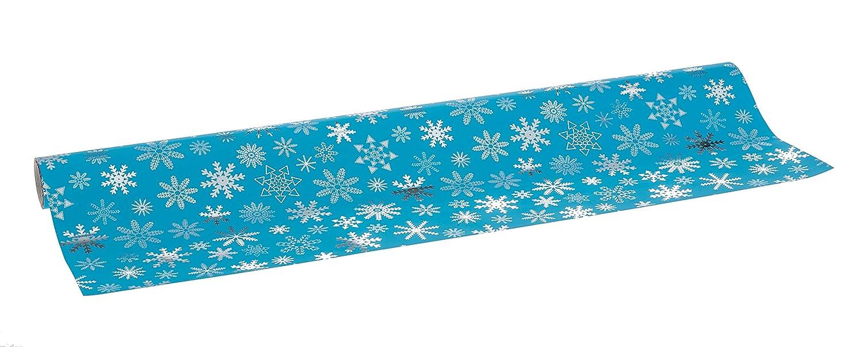Modello Fantasia Natale 70 cm x 10 m Metallizzata Amazing Pack Rotolo Carta Regalo