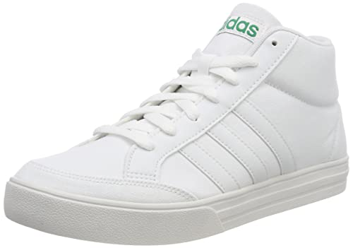 finest selection bc9f3 098a3 adidas Vs Set Mid Scarpe da Tennis Uomo, Bianco Ftwwht Crywht Bgreen, 48  EU  Amazon.it  Scarpe e borse