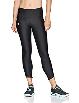 Under Armour Armour Fly Fast Crop Leggings Capri, Mujer, Negro (001),