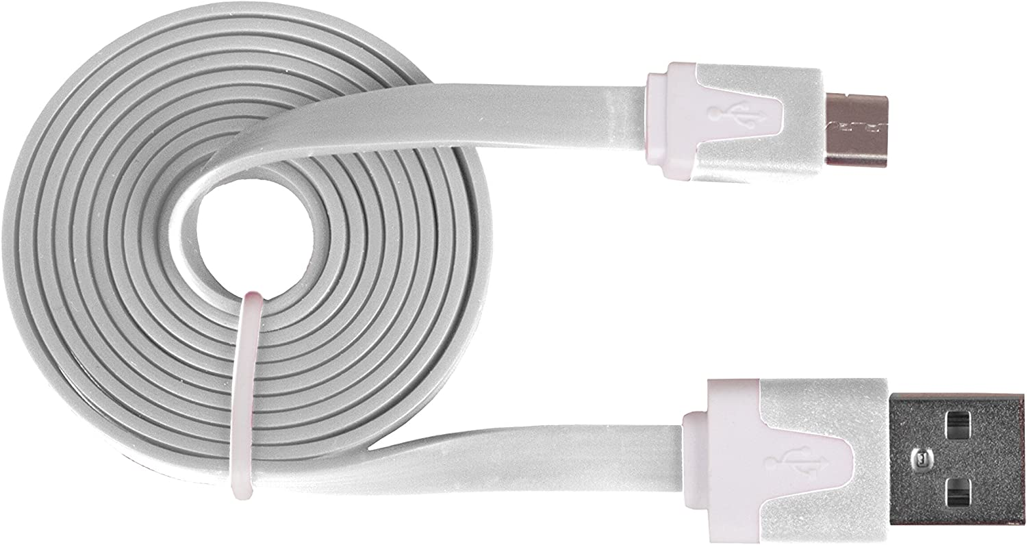 Red Urban Factory CBL80UF Flat USB to Micro USB Cable 1m