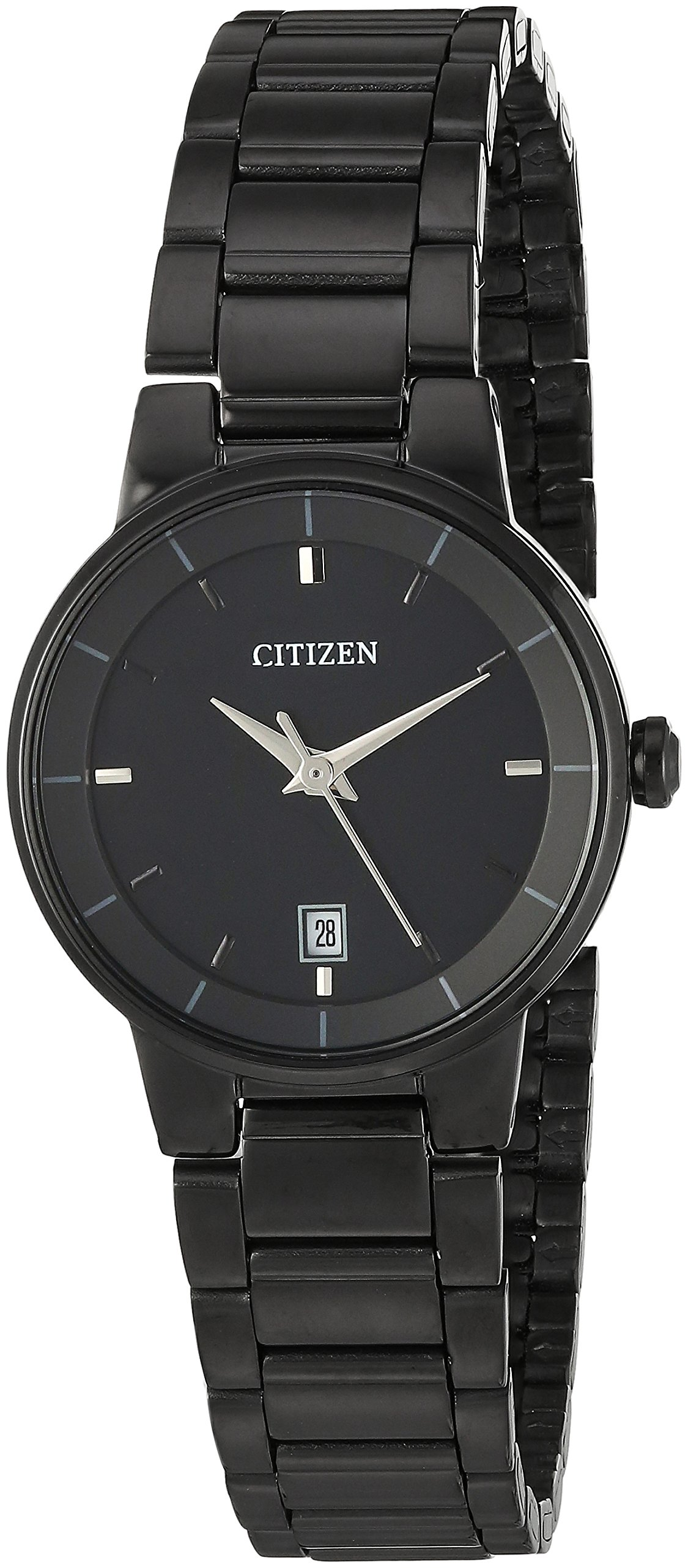 Citizen Women's ' Quartz Stainless Steel Casual Watch, Color:Black (Model: EU6017-54E)