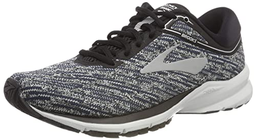 c02765de01b8f Brooks Men s Launch 5 Black Ebony Primer Grey Running Shoes 9 UK India