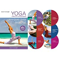 Yoga for Beginners Deluxe 6 DVD Set: 8 Yoga Video Routines for Beginners. Includes...