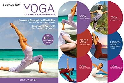 Amazon.com: Yoga for Beginners Deluxe 6 DVD Set: Over 50 ...
