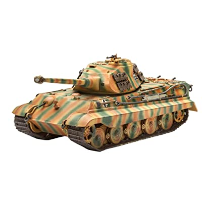 Revell Germany Tiger II Ausf. B Porsche Prototype Turret Kit: Toys & Games
