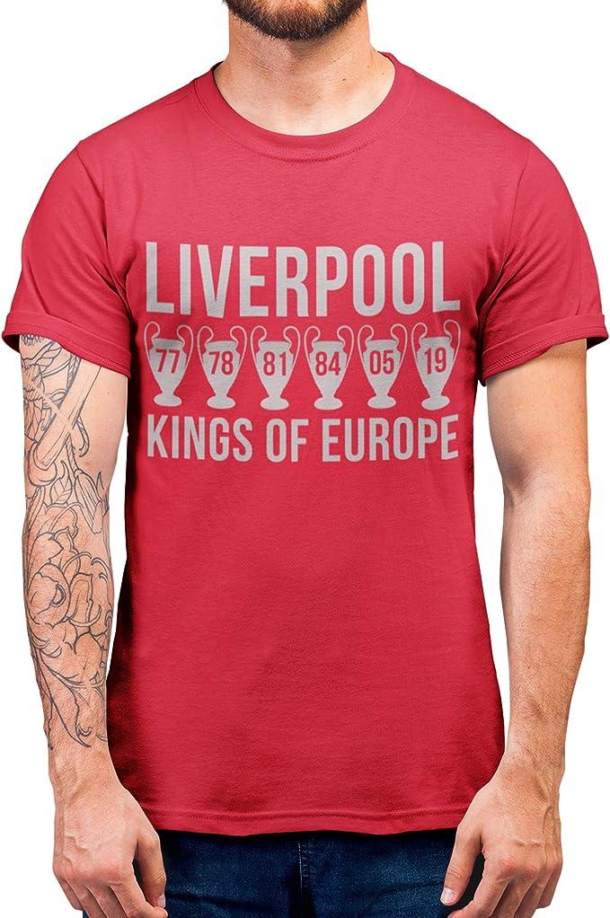 Allez Allez Allez Allez European Champions Final 2019 T-Shirt Herren Damen Kinder Liverpool Shirt
