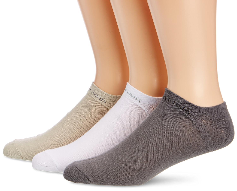 Calvin Klein Socks Herren Sneakersocken ECL376, 3er Pack, 3er Pack BLACK 40/46