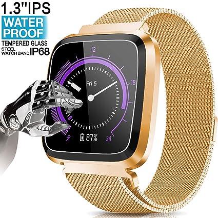 Amazon.com: Yakoo - Reloj inteligente, resistente al agua ...