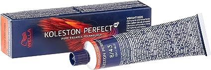 Wella Professionals Koleston Perfect Me + Vibrant Reds 8/43 Rubio Claro Rojo Oro, 60 ml
