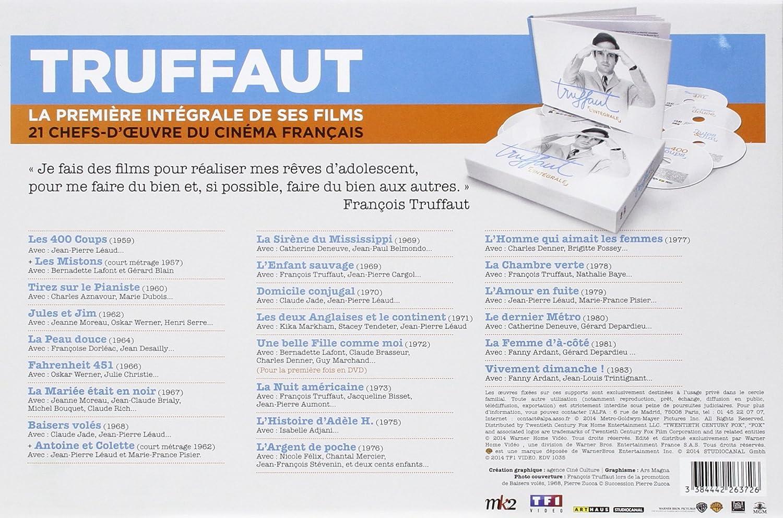 Amazon.com: François Truffaut Collection - 21-DVD Box Set ( Les ...