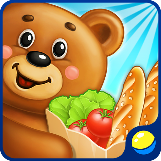Supermarket - educational and entertaining game for children of kindergarten age in which preschool kids get acquainted with the arrangement of a grocery store, do the shopping according to a list, make cakes and candies, and work with cash register