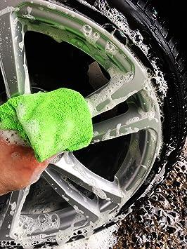 Mr Perfect Microfasertuch Grün Fusselfreies Reinigungstuch 10 Stück Küche Haushalt