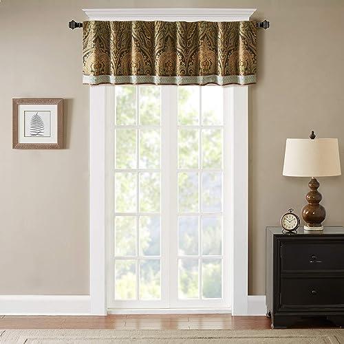 Hampton Hill Canovia Springs Window Valance Brown 54×18