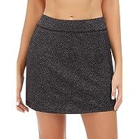 iClosam Women Skort Active Athletic Lightweight Skirt for Running Tennis Golf Workout Sports