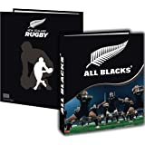 Classeur A4 ALL BLACKS - Collection officielle - Rentrée scolaire - Rugby - C...