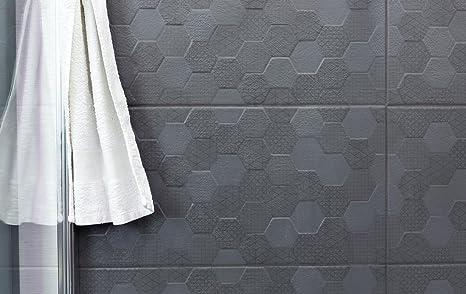 Nucli antracite esagonale decor piastrelle di ceramica