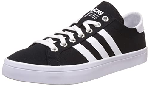wholesale dealer 802df 398f1 adidas Originals Mens Courtvantage Cblack, Ftwwht and Metsil Sneakers - 12  UKIndia (