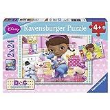 Ravensburger 09080 - Disney Doc McStuffins, 2 x 24 Teile Puzzle