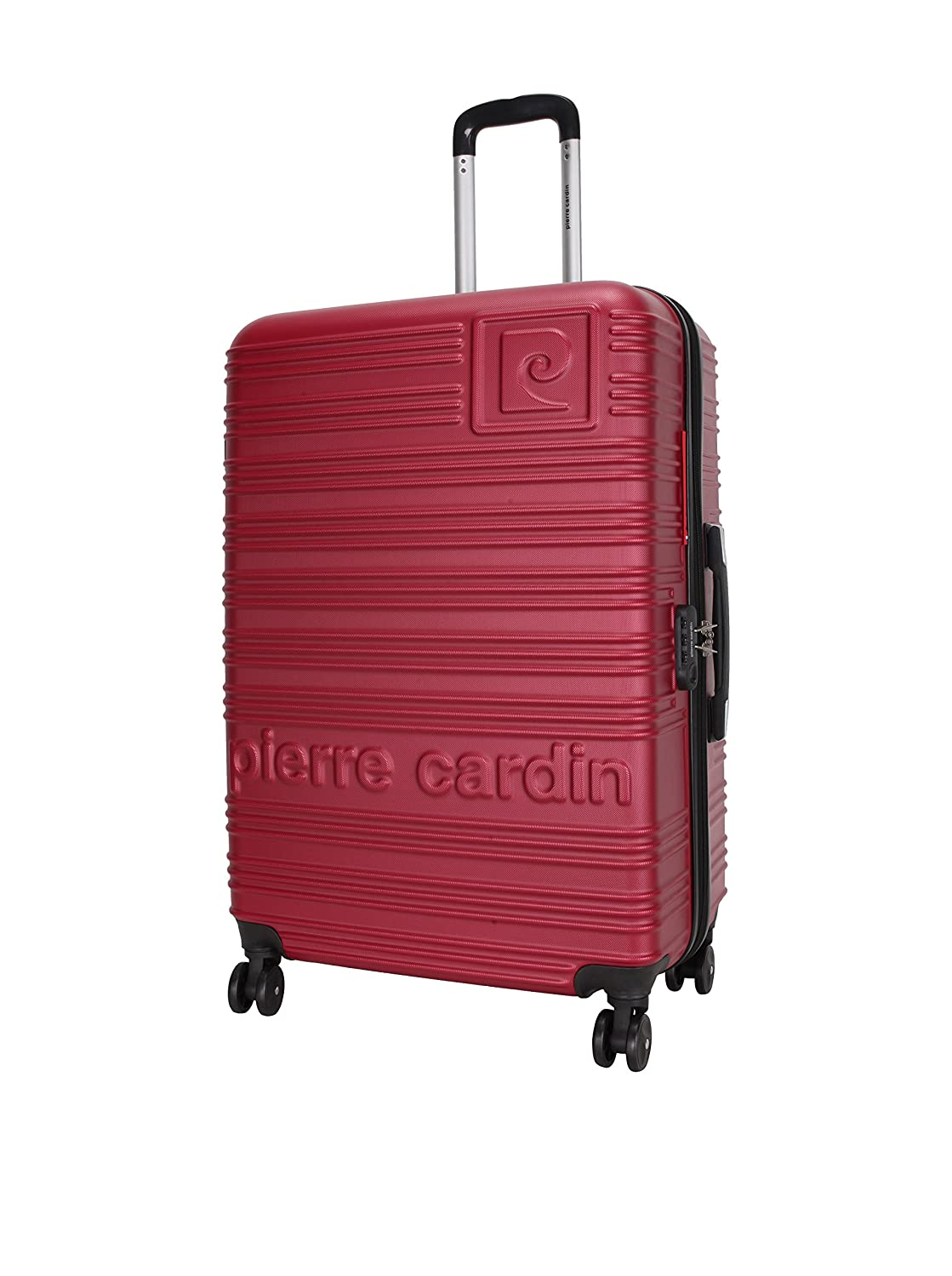 the best attitude low price sale detailed images pierre cardin 3er Set Hartschalen Trolley bordeaux: Amazon ...