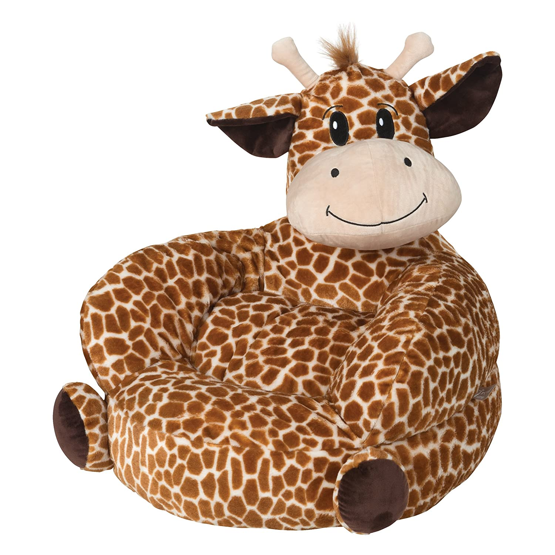 Trend Lab Children's Plush Character Chair, Giraffe, Tan 102667