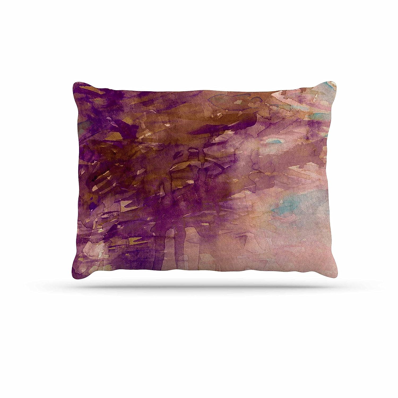 KESS InHouse EBI Emporium Carnival Dreams 4  Purple Brown Dog Bed, 30  x 40