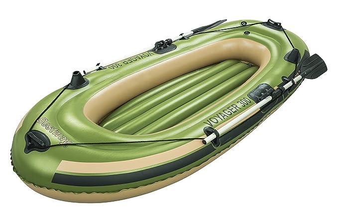 Bestway Schlauchboot Set 243x102cm Voyager 300 mit 2 Paddeln - Balsa Inflable