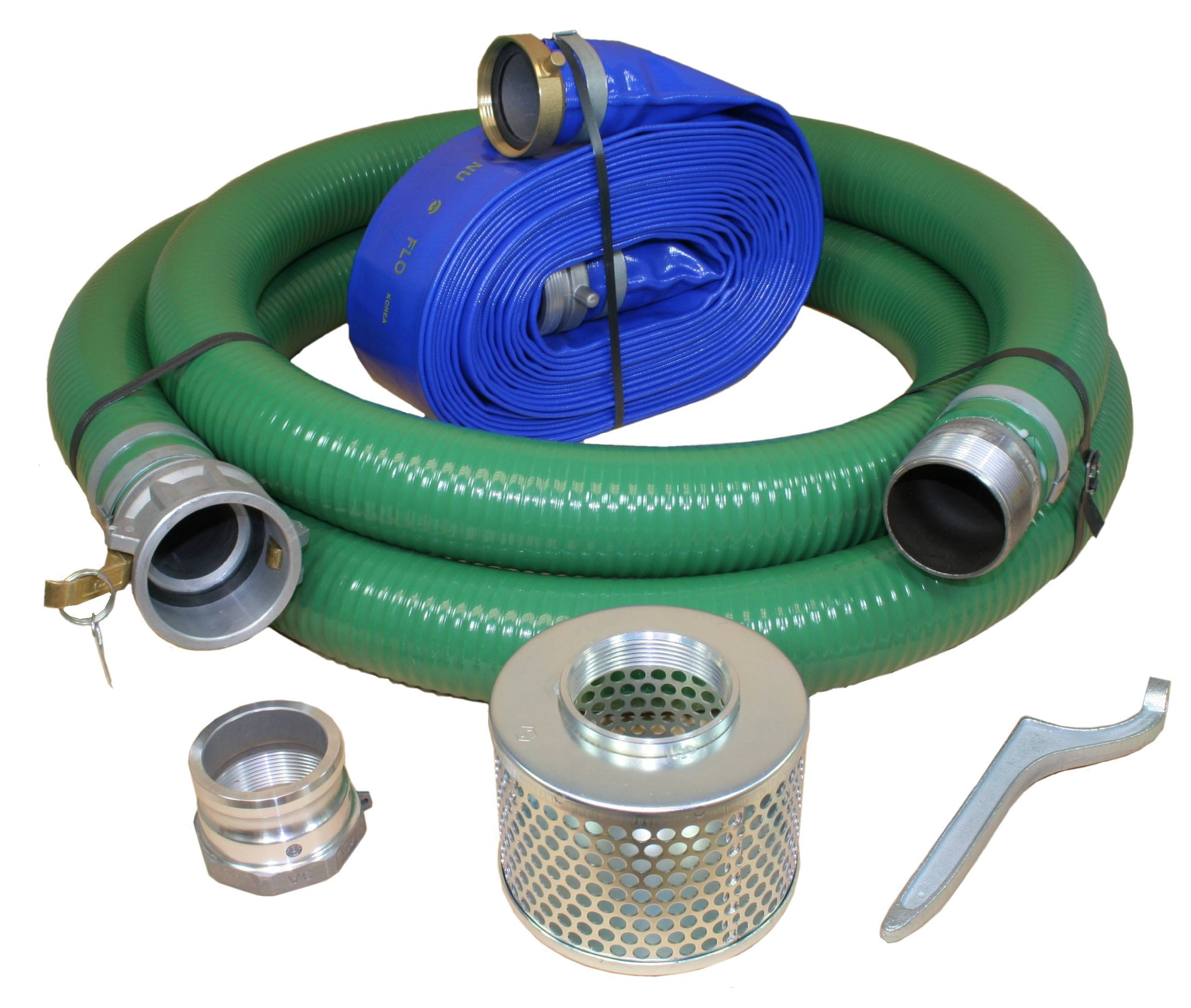 Abbott Rubber X1240-KIT-3000-1147-CN Water Pump Hose Kit, Includes 3-Inch Suction and Discharge Hose by Abbott Rubber