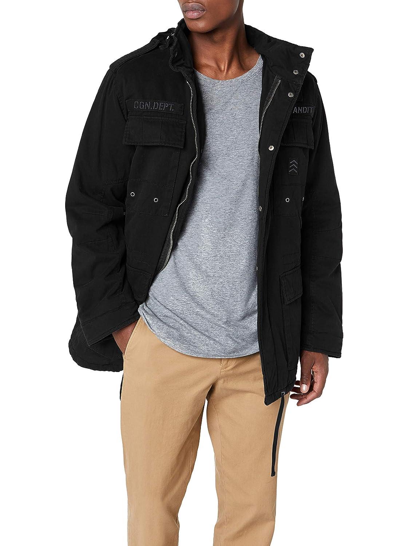 Brandit Ryan M65 Winterjacket Chaqueta, Negro (Black), XXL para Hombre