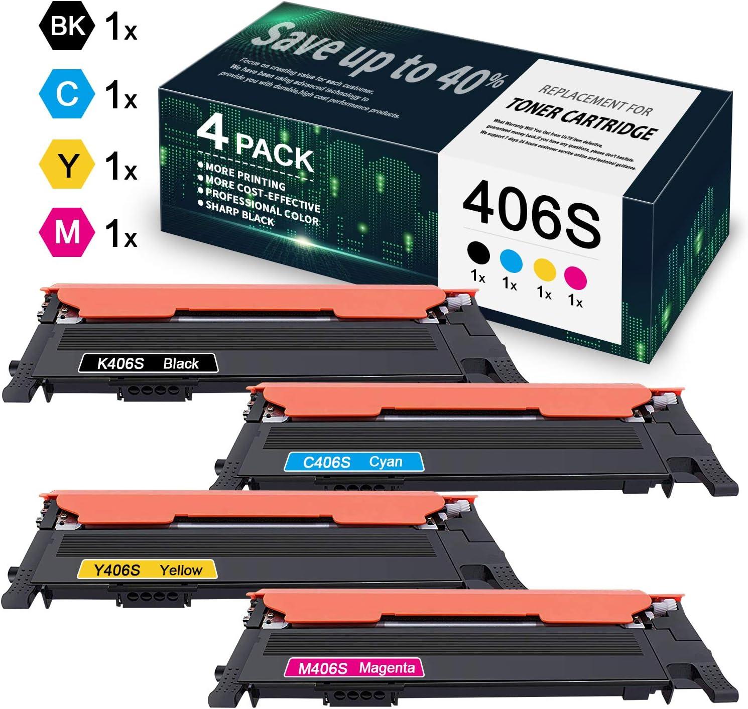thegymyarraville.com.au 4 Pack 1BK+1C+1M+1Y 406S K406S C406S M406S ...