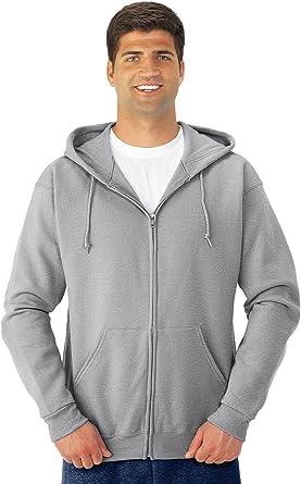 JERZEES NuBlend Full-Zip Hooded Sweatshirt 993MR S-3XL Hoodie