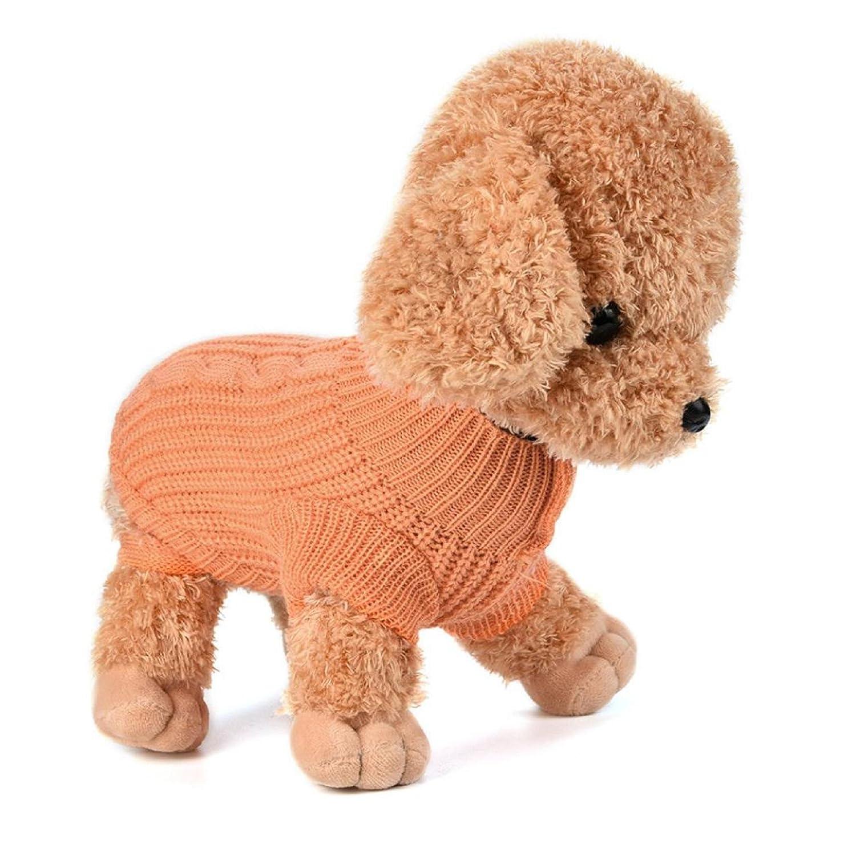 INTERNET Ropa para Perros, Puente De Punto para Mascotas Suéter De Invierno Disfraz De Peluche (M, Rosa): Amazon.es: Juguetes y juegos