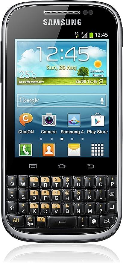 Samsung B5330 Galaxy Chat - Smartphone Libre (Pantalla 3