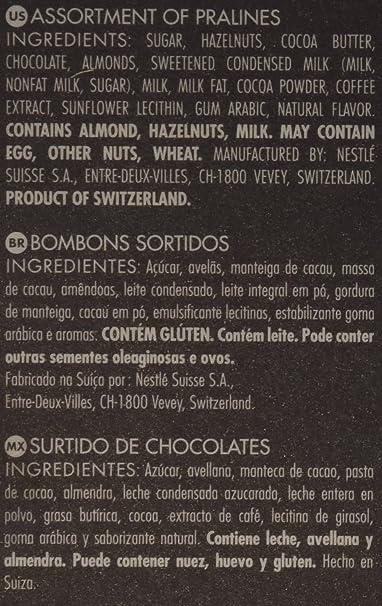 Amazon.com: CAILLER Chocolate Selection Assortment Box, Praline, 4.8 Ounce: Prime Pantry