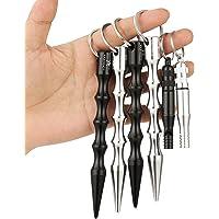 2a 4 piezas de Kubotan en distintos colores, ergonómicos y con anilla de seguridad. Llavero con o sin señal de silbato SOS