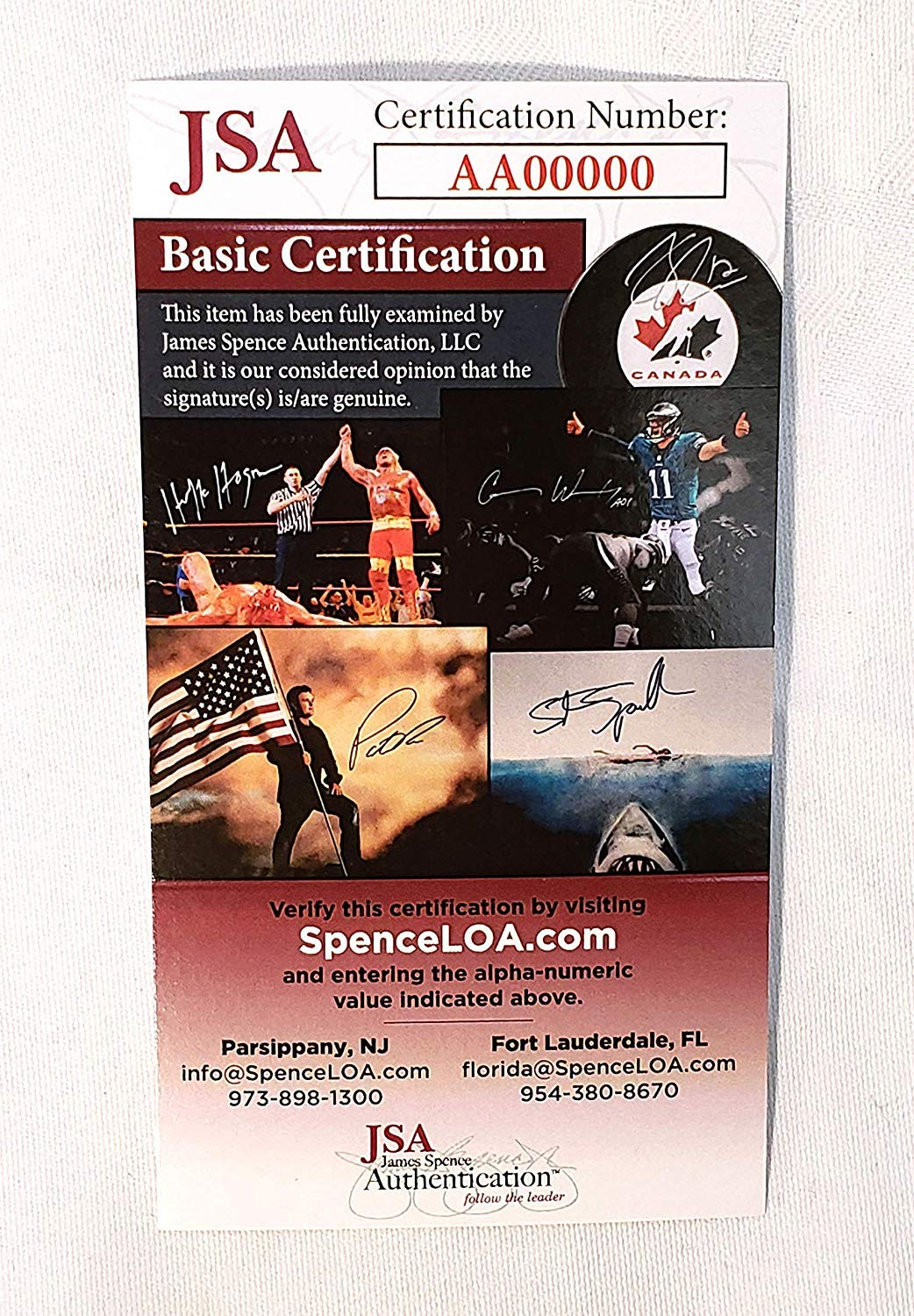WWE Barbarian Signed Autograph Action Figure JSA/COA at Amazons Sports Collectibles Store