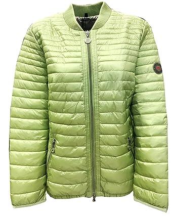 78bf5d91c2203 BARBARA LEBEK Women's Jacket Green Apple Green - Green - L: Amazon ...