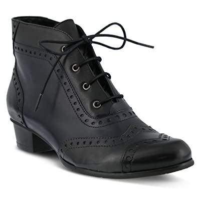 Spring Step Womens Black Boots Heroic