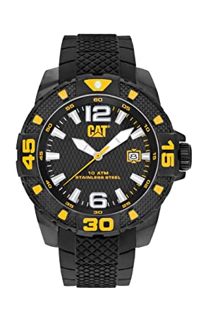 CAT WATCHES Mens PT16121137 Sport EVO Analog Display Quartz Black Watch