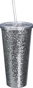 Blush True Fabrication Tumbler, 24 oz, Silver