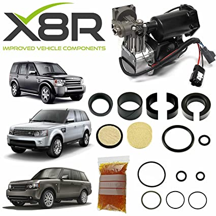 Amazon.com: Land Rover Range Rover Sport Air Suspension Compressor Repair Kit X8R46: Automotive