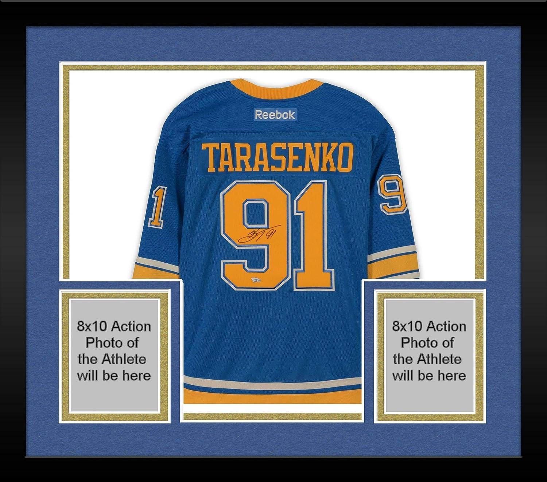 finest selection faef8 c36de Framed Vladimir Tarasenko St. Louis Blues Autographed Blue ...